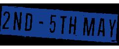 2 – 5 May 2019
